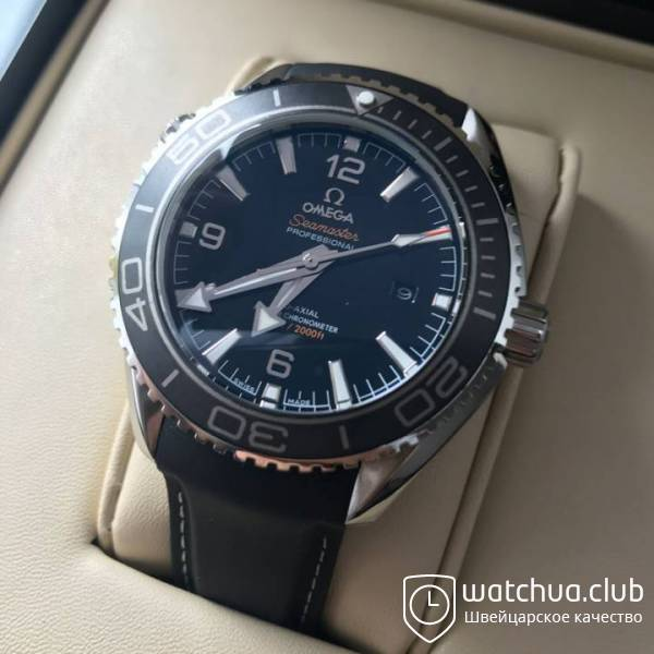 Omega Seamaster Planet Ocean 600m Co-Axial вид 1