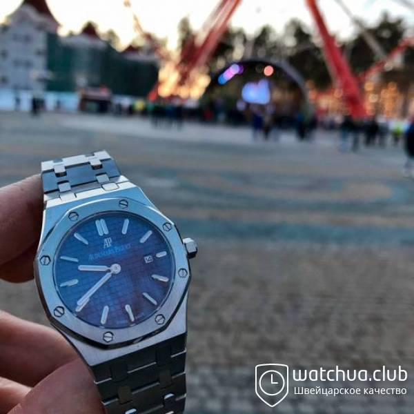 Audemars Piguet Royal Oak Ladies Steel Blue вид 1