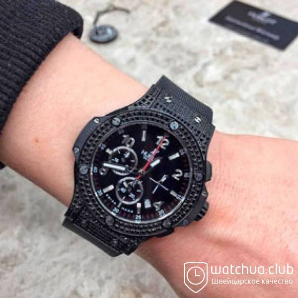 Hublot Big Bang Tutti Frutti All Black Shiny Onyx вид 1