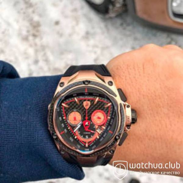 Tonino Lamborghini Spyder Red Line Gold black вид 1