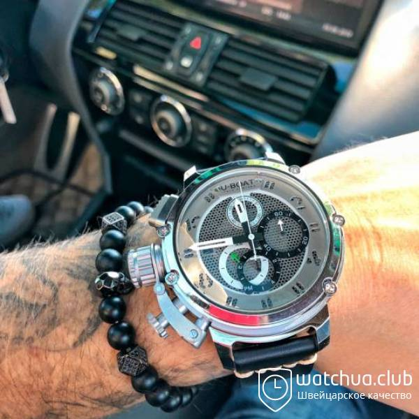 U-boat Chimera Chrono Tungsten Limited Edition вид 1