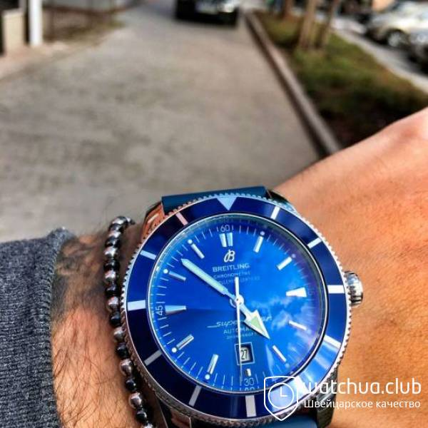 Breitling Superocean Heritage 46 Blue Automatic вид 1