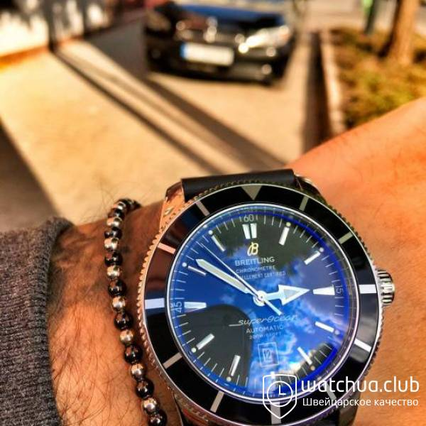 Breitling Superocean Heritage 46 Black Automatic вид 1