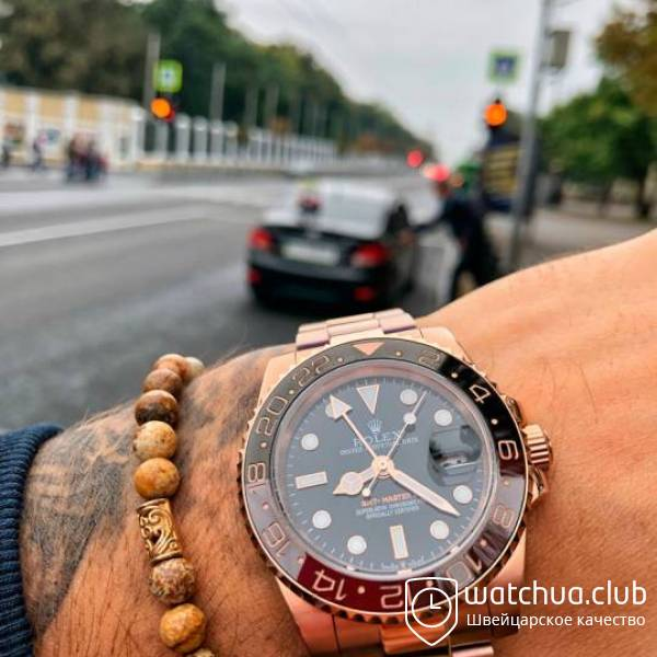 Rolex GMT-Master II Root Beer Bezel Everose Gold вид 1