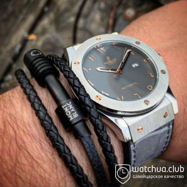 Hublot Visions arabic  Gray steel вид 1