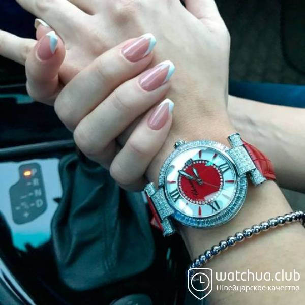 Chopard Imperiale Jade Steel Red вид 1