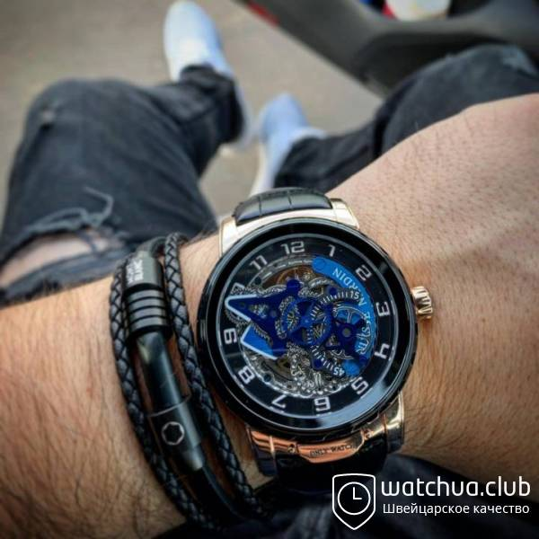 Ulysse Nardin gold black вид 1