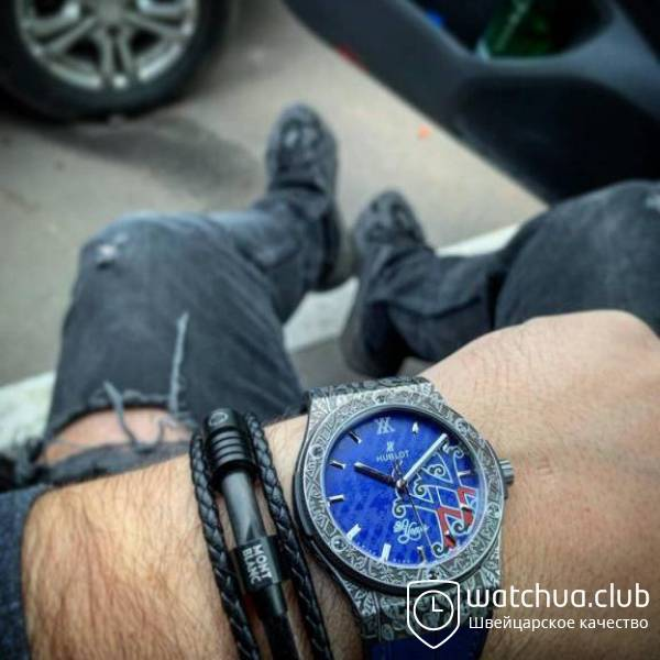 Fuente XX chrono stell metallic blue вид 1