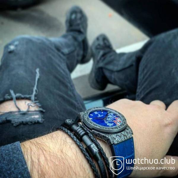 Fuente XX chrono stell metallic blue вид 2