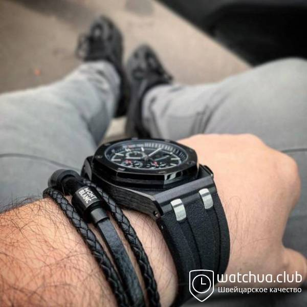 Audemars Piguet Royal Oak Offshore Carbon Chronograph black вид 2