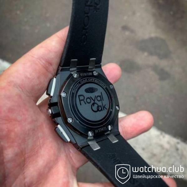 Audemars Piguet Royal Oak Offshore Carbon Chronograph black вид 3