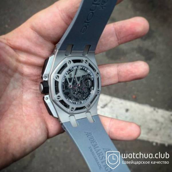 Audemars Piguet Royal Oak Offshore Carbon Chronograph metallic вид 4