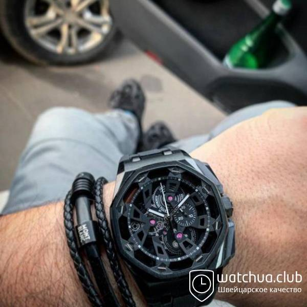 Audemars Piguet Royal Oak Offshore Carbon Chronograph black вид 1